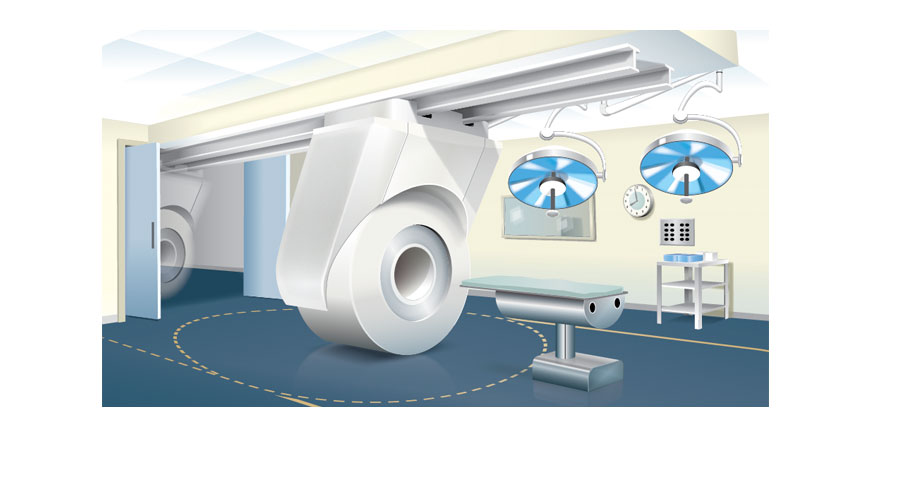 MRI Operating Room Illustration