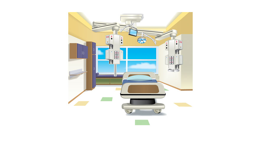 Patient room furniture  Stryker