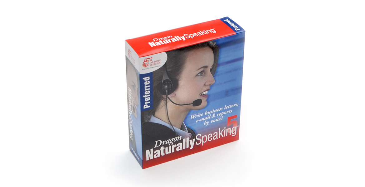 Speech Recognition Software Packaging US / UK Preferred
